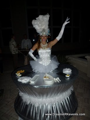 Living Table Showgirl