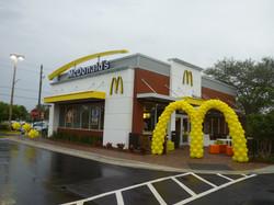 McDonald's grand opening balloon