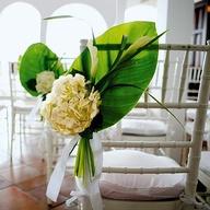 Wedding Aisle Chair Decoration