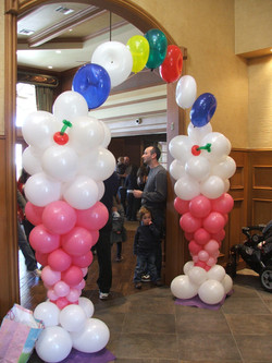 Sunday Ice Cream Balloon Designs