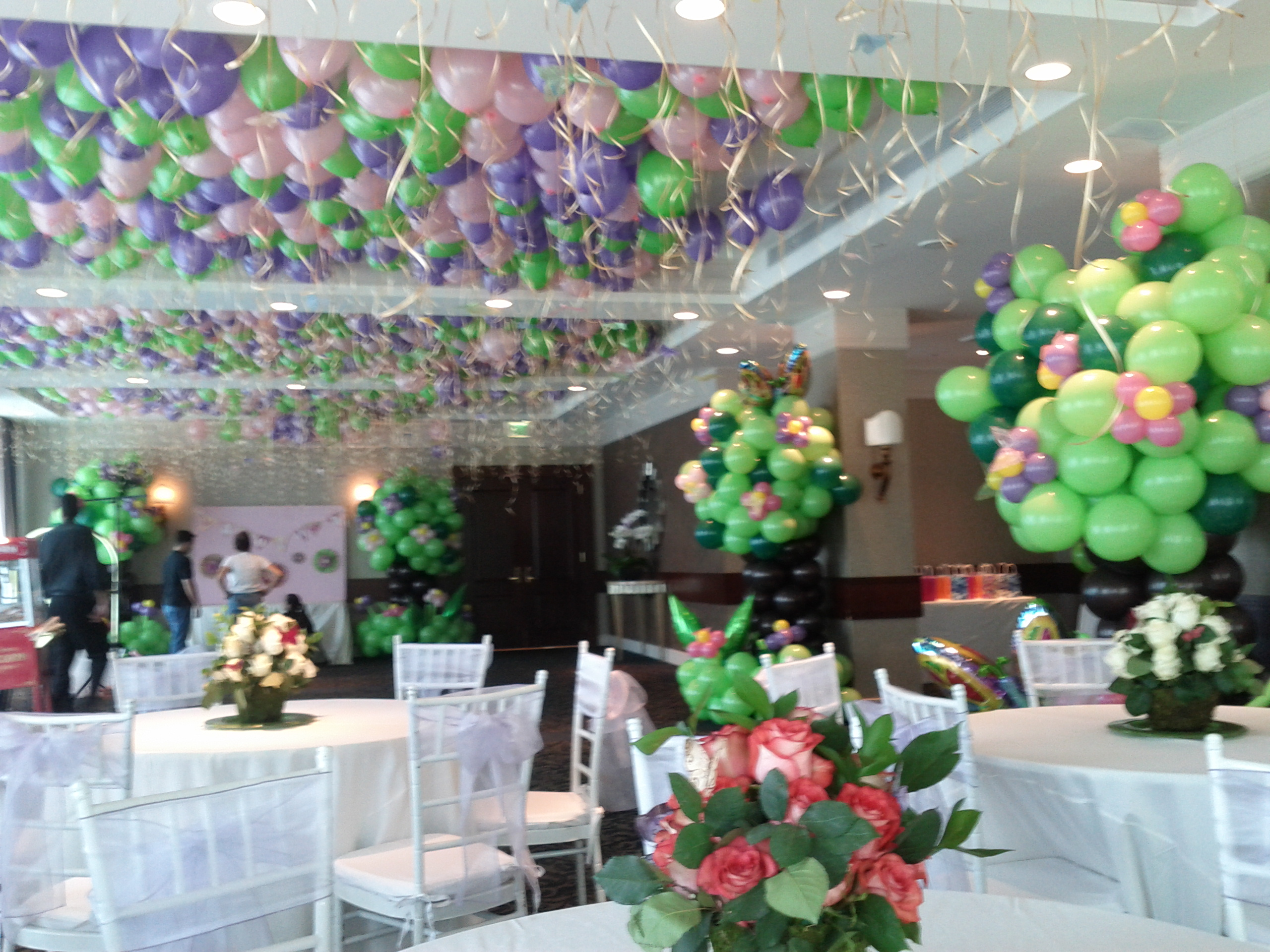 Ceiling Decoration Helium Balloons