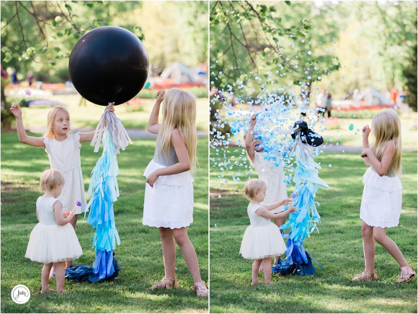 Gender Reveal Jumbo Helium Balloon