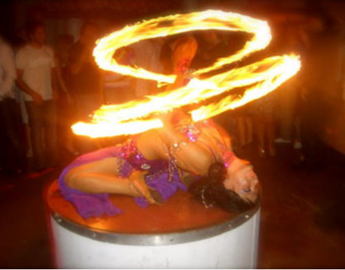 Fire Dancer Show