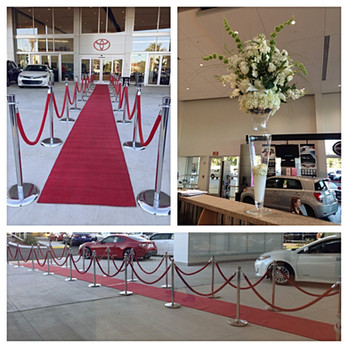 Toyota Corporate Event Red Carpet