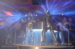 LED Dancing Robots