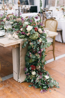 Fresh Floral Table Runners