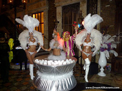 Showgirls & Living Table