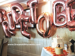 To Be Bride! Rose Gold Letters