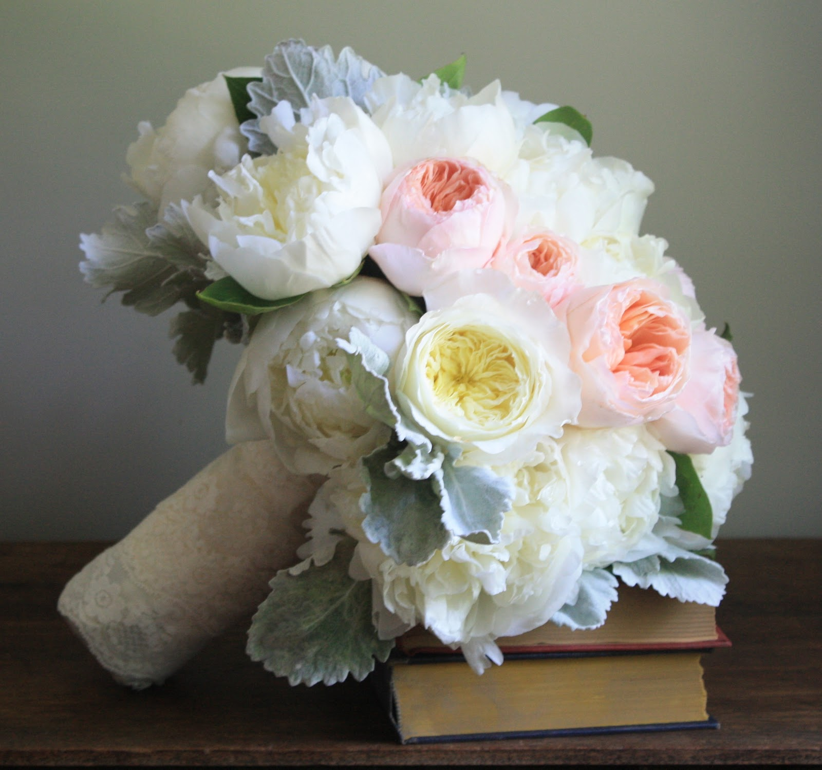 White Peony & Garden Rose