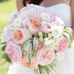 Garden Roses Wedding Flowers