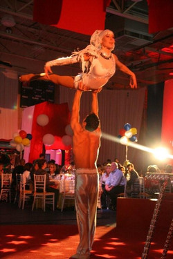 Acrobat Duo Performers