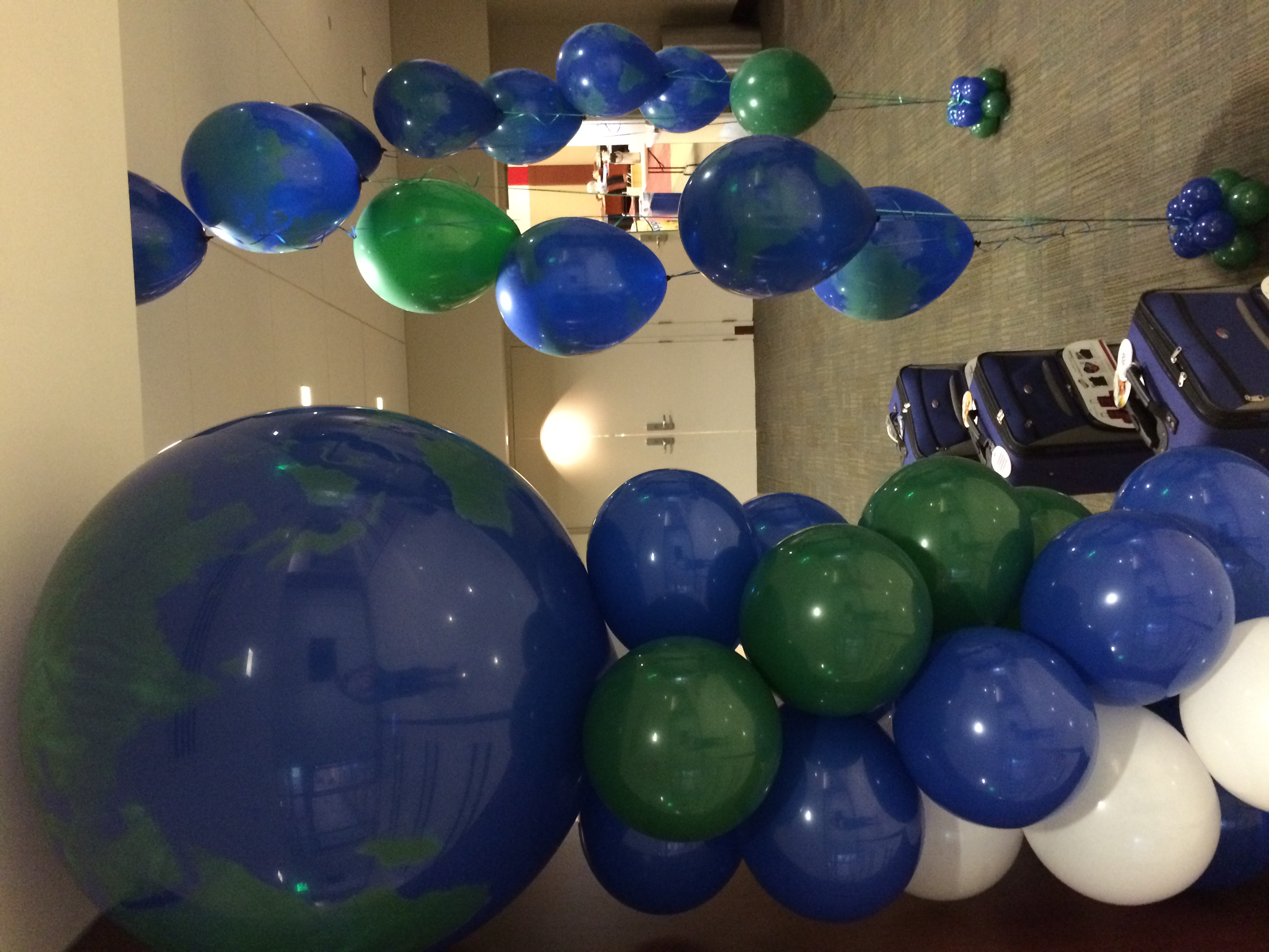 Around the World Balloon Design