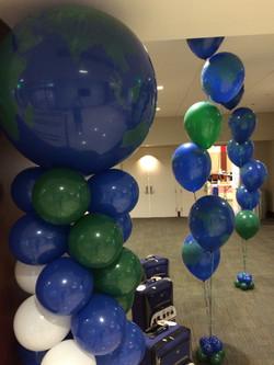 Around the World Balloon Design