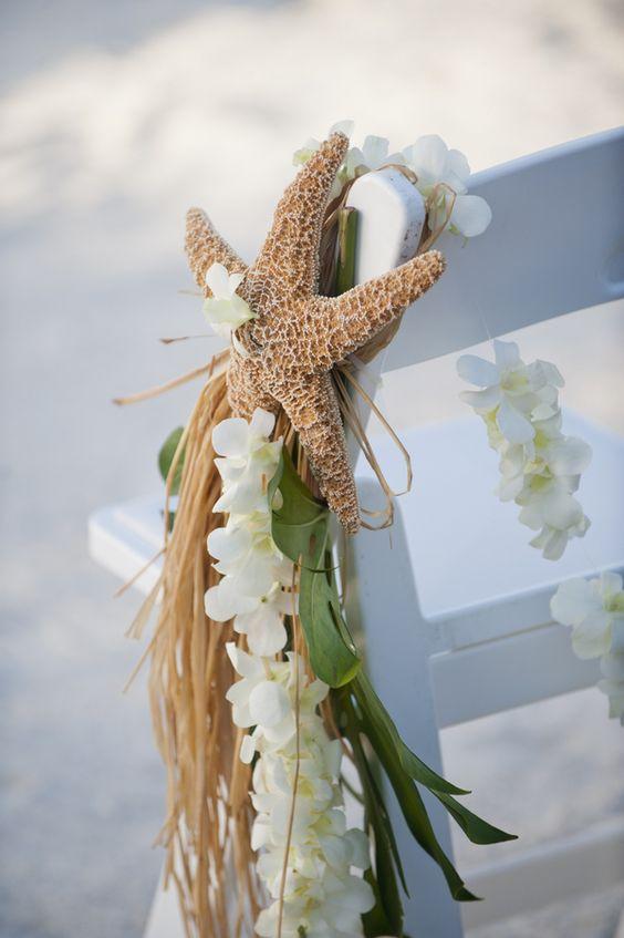 Sea Themed Wedding Aisle