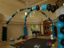 Dance Floor Balloon Arch