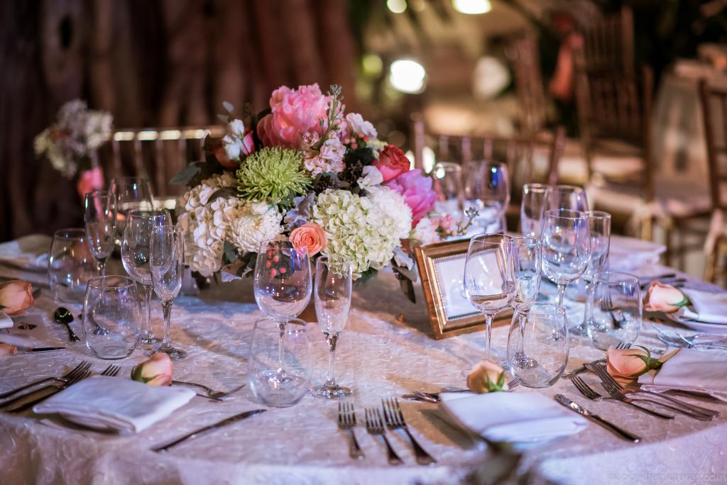 Reception Flowers Centerpiece