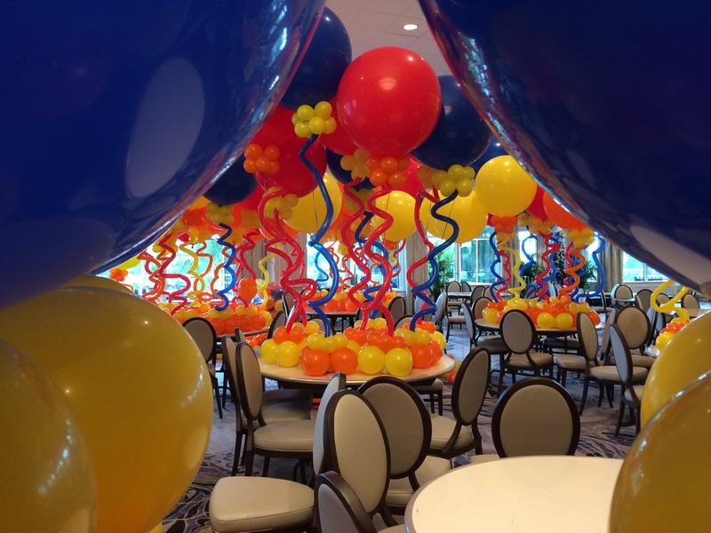 Big Balloon Centerpiece