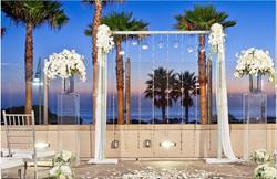 Elegant Beach Arch