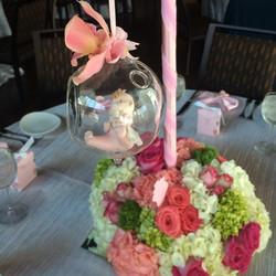 Baby Shower Floral Decoration
