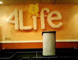 4 LIFE balloon Logo