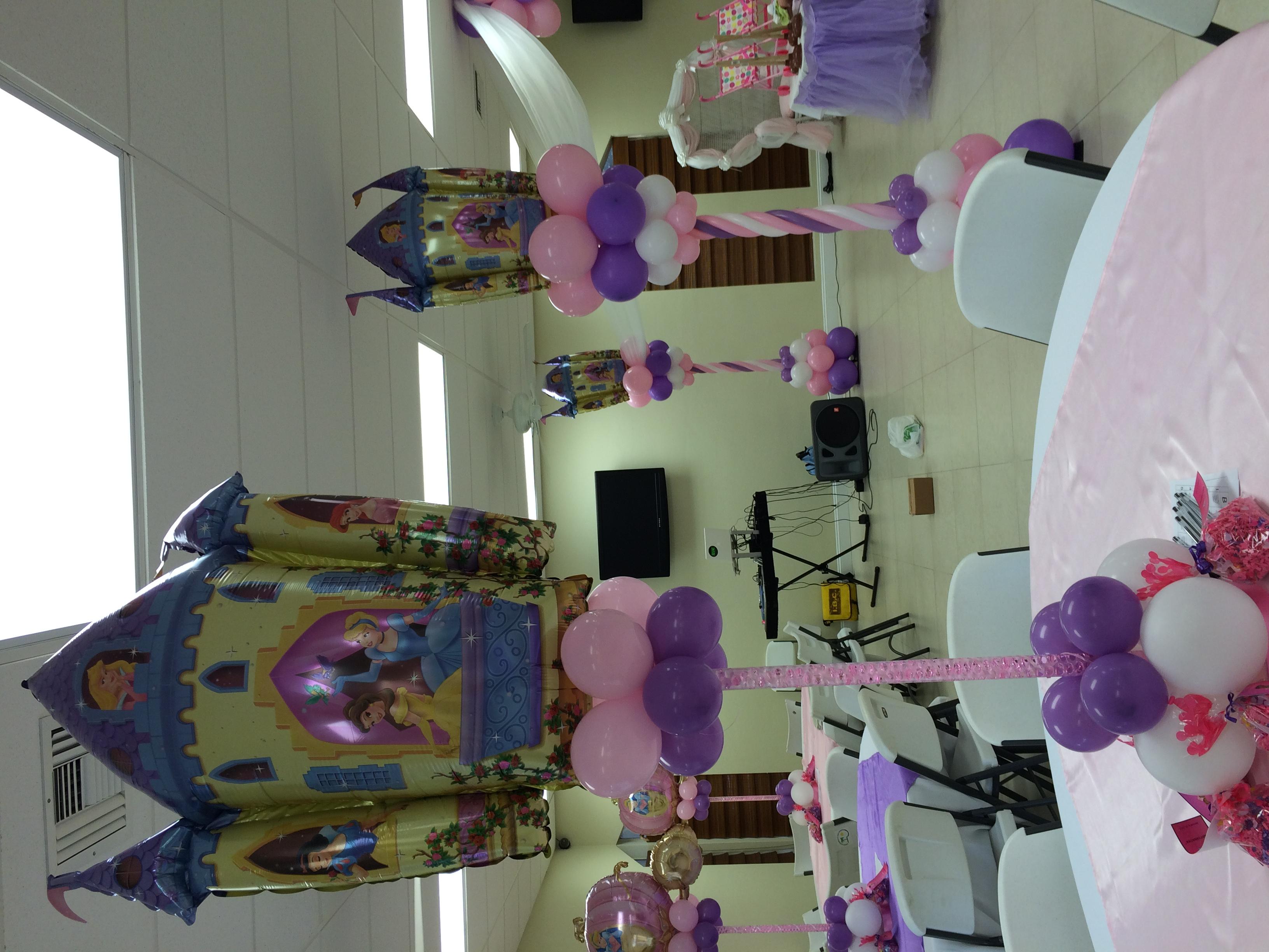 Princess Balloon Centerpiece