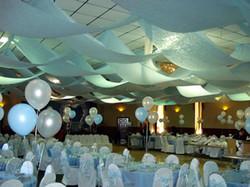 Gossamer Fabric Ceiling