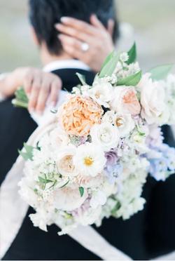 Blush Color Bridal Bouquet