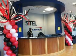 Corporate Event Balloon Columns