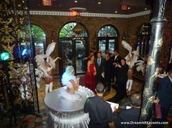 Show girls & Living Table