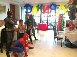 Superhero characters entertainment