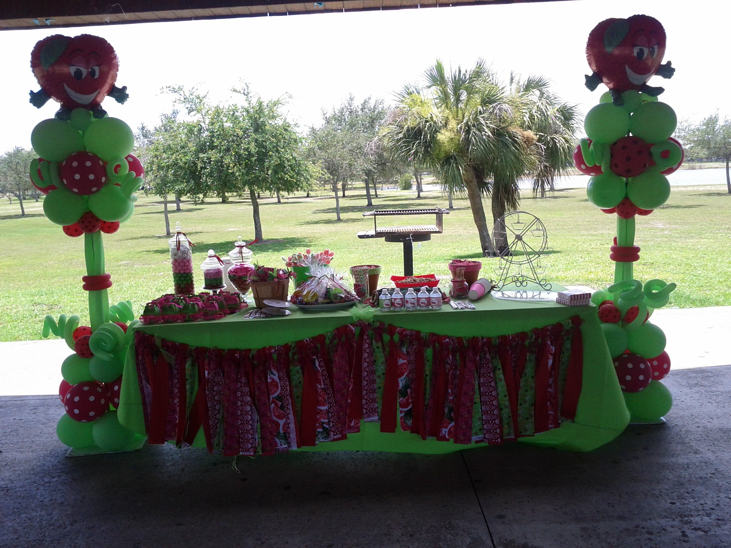 Strawberry theme Party Decoration