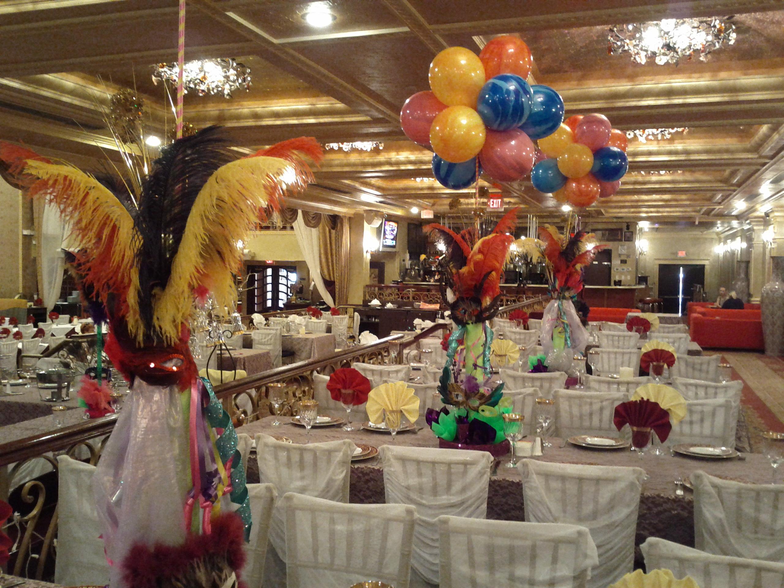 Mardi Gras Theme Decoration