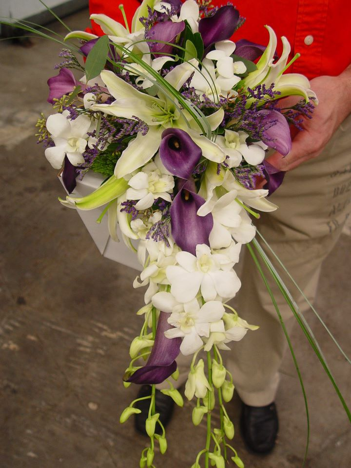 Cascade Flower Bouquet