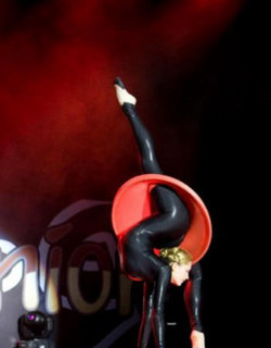 Contortion performer entertainment
