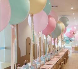 Pastel Balloon Centerpiece