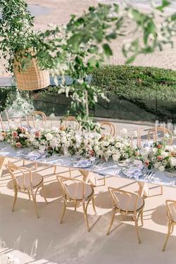 Fresh Floral Table Runner