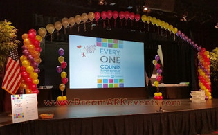 Stage Arch Fundraising Event