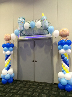 Welcome Baby Balloon Arch