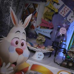 Alice in Wonderland themed