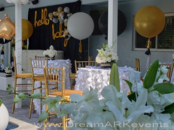 Baby Shower Balloons & Flowers