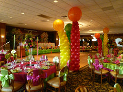 Elegant Balloon Columns