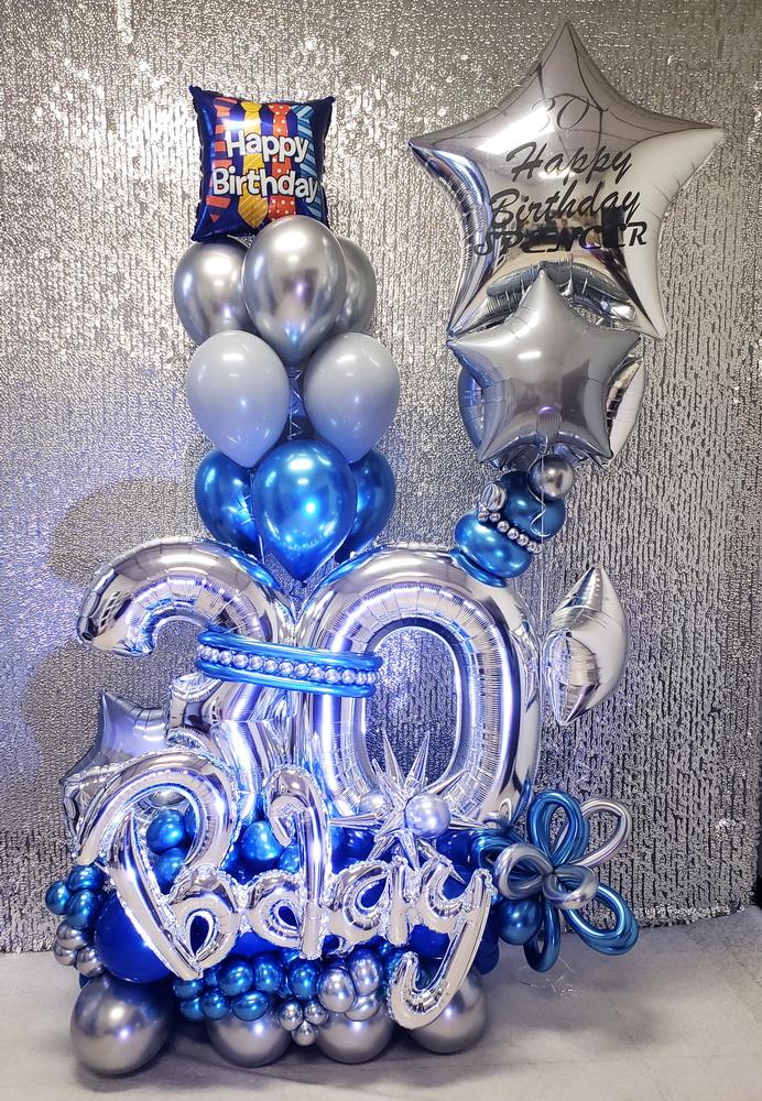 30th Birthday Balloon Bouquet!