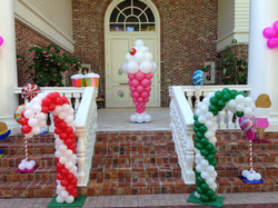 Candy Themed Balloon Decoration