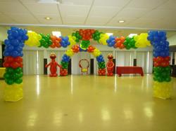 Elmo themed decoration