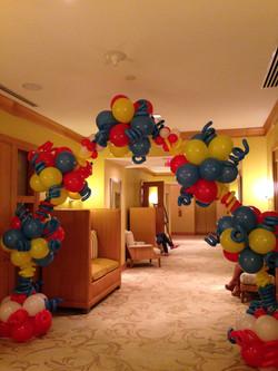 Unique Balloon Arch