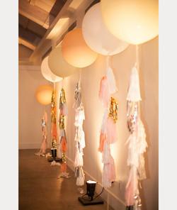 Balloon Wedding Decor