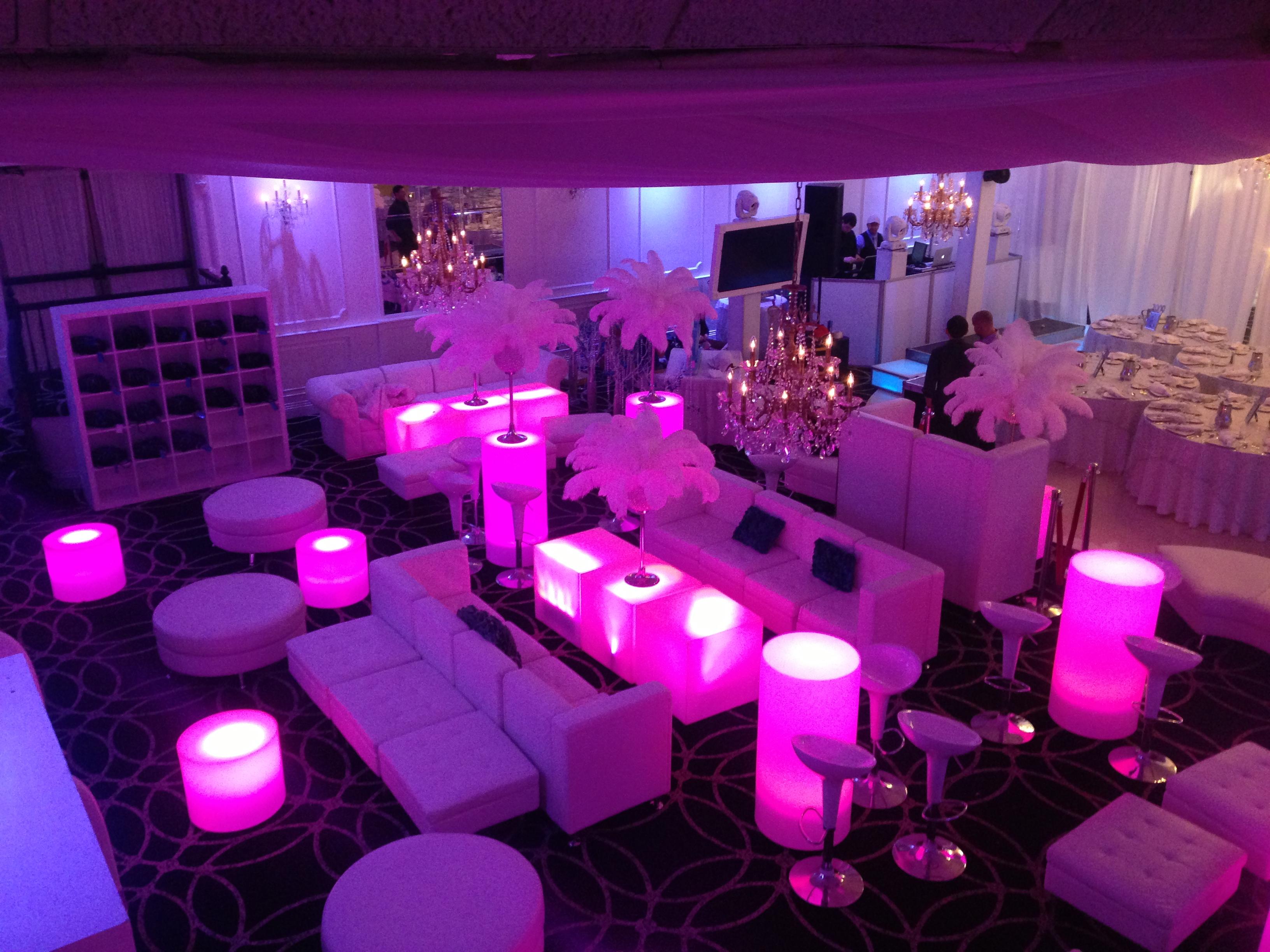 LED Forniture rental