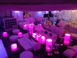 LED Furniture and lounge decor