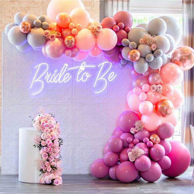 """""""Bride to Be"""" Neon Sign Rental"""