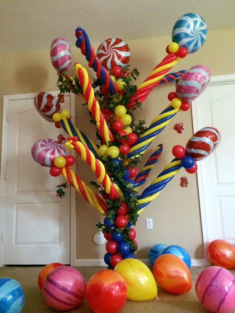 Candy Tree Balloon Column